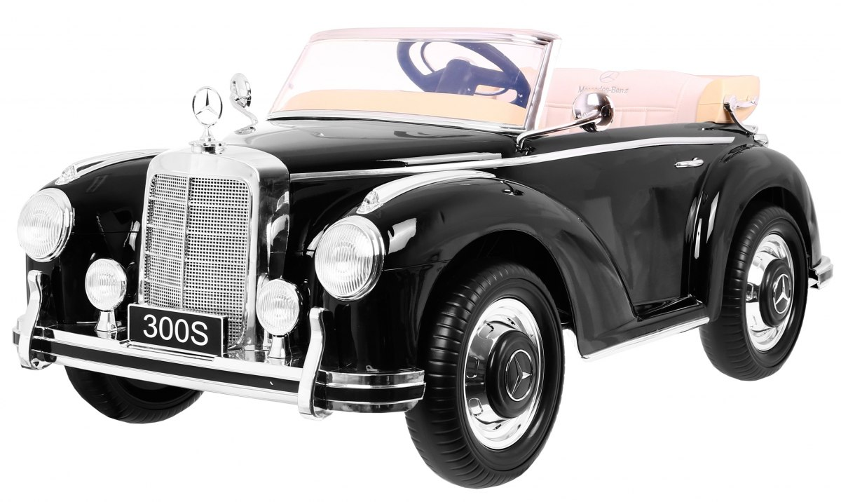 Mercedes Benz 300S RETRO čierny