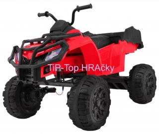 Štvorkolka All-terrain Quad vehicle 4 x 4 červená
